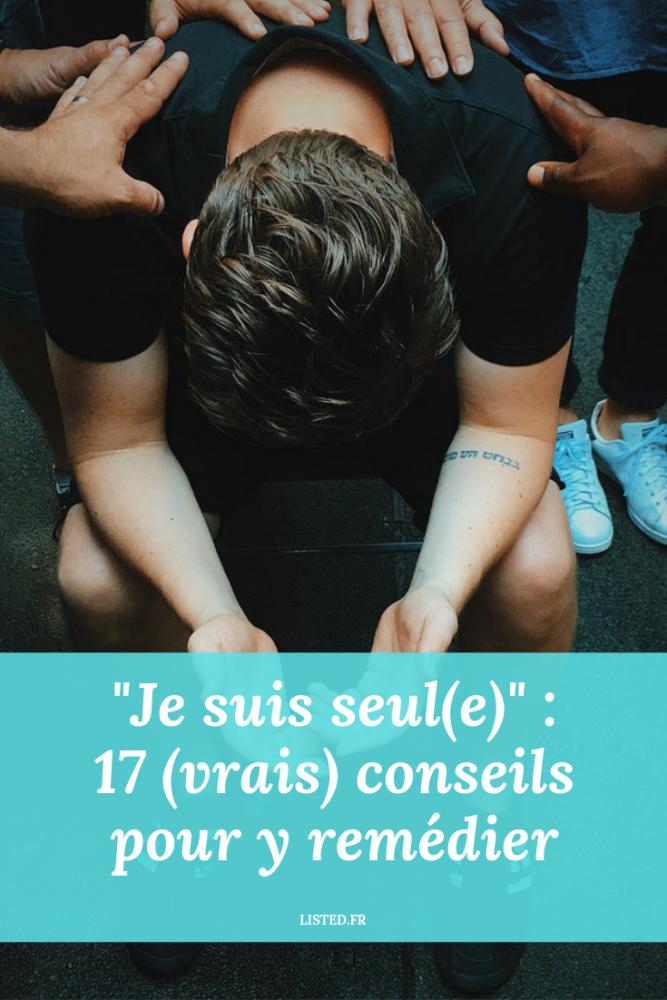"""""""Je suis seul(e)"""" : 17 (vrais) conseils pour y remédier – Pinterest"""